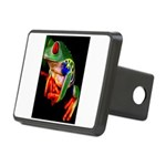 Colorful Frog Rectangular Hitch Cover