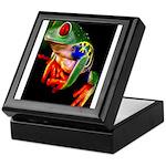 Colorful Frog Keepsake Box