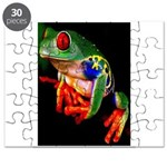Colorful Frog Puzzle