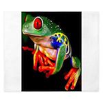 Colorful Frog King Duvet