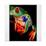 Colorful Frog Queen Duvet