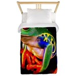 Colorful Frog Twin Duvet