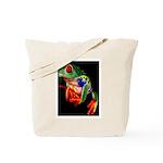 Colorful Frog Tote Bag