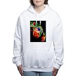 Colorful Frog Women's Hooded Sweatshirt
