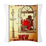 New Orleans Woven Throw Pillow