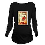 New Orleans Long Sleeve Maternity T-Shirt