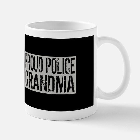Police: Proud Grandma (Black Flag, Blue Mug