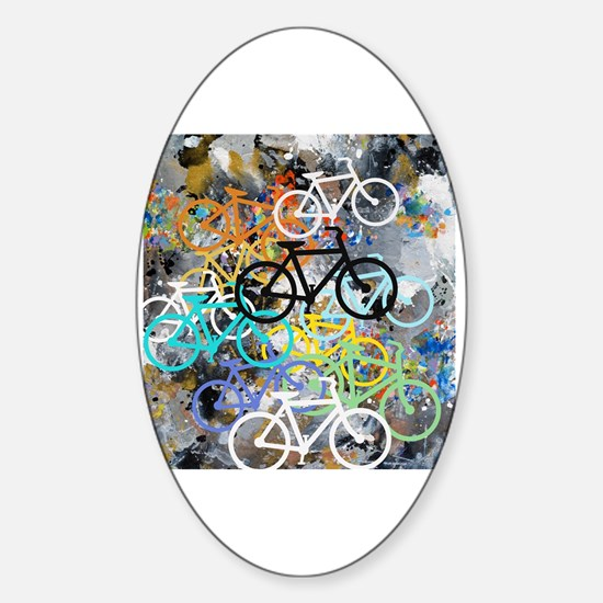 Cute Sports and recreation Sticker (Oval)