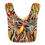 Mardi Gras Mask and Beautiful Woman Bib
