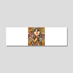 Mardi Gras Mask and Beautiful Woman Car Magnet 10