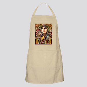 Mardi Gras Mask and Beautiful Woman Apron