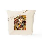 Mardi Gras Mask and Beautiful Woman Tote Bag