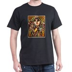 Mardi Gras Mask and Beautiful Woman T-Shirt