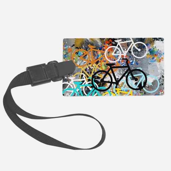 Bicycles Art Luggage Tag