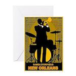 Samba D'Orpheus New Orleans Trumpet Player Greetin
