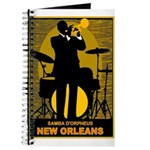 Samba D'Orpheus New Orleans Trumpet Player Journal