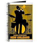 Samba D'Orpheus New Orleans Trumpet Player Journal