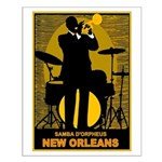 Samba D'Orpheus New Orleans Trumpet Player Small P