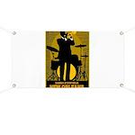 Samba D'Orpheus New Orleans Trumpet Player Banner