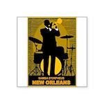 Samba D'Orpheus New Orleans Trumpet Player Sticker