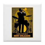 Samba D'Orpheus New Orleans Trumpet Player Tile Co
