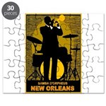 Samba D'Orpheus New Orleans Trumpet Player Puzzle