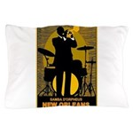 Samba D'Orpheus New Orleans Trumpet Player Pillow