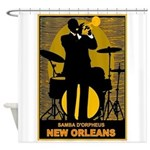 Samba D'Orpheus New Orleans Trumpet Player Shower