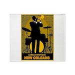 Samba D'Orpheus New Orleans Trumpet Player Throw B