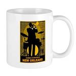 Samba D'Orpheus New Orleans Trumpet Player Mugs