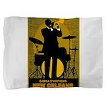 Samba D'Orpheus New Orleans Trumpet Player Pillow