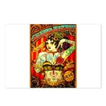 Chapel Tattooed Beautiful Lady Postcards (Package