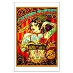 Chapel Tattooed Beautiful Lady Poster