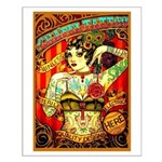 Chapel Tattooed Beautiful Lady Small Poster