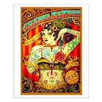 Chapel Tattooed Beautiful Lady Small Poster