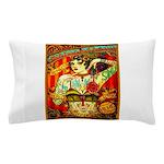 Chapel Tattooed Beautiful Lady Pillow Case