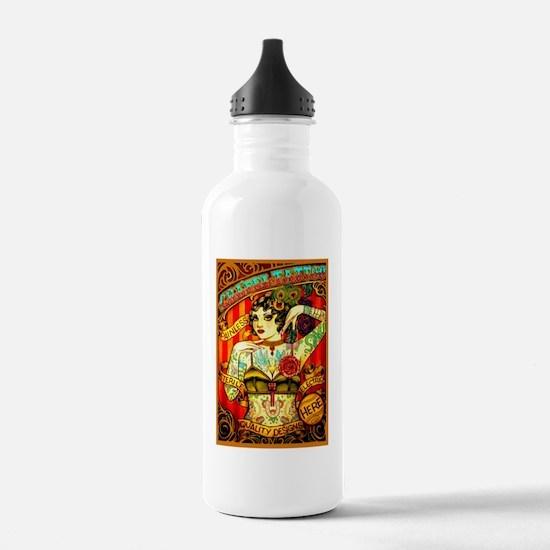 Chapel Tattooed Beautiful Lady Water Bottle
