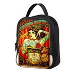 Chapel Tattooed Beautiful Lady Neoprene Lunch Bag