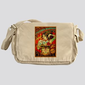 Chapel Tattooed Beautiful Lady Messenger Bag