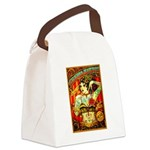 Chapel Tattooed Beautiful Lady Canvas Lunch Bag