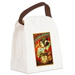 Chapel Tattooed Beautiful Lady Canvas Lunch Bag