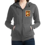Chapel Tattooed Beautiful Lady Women's Zip Hoodie