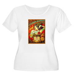 Chapel Tattooed Beautiful Lady Plus Size T-Shirt