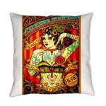 Chapel Tattooed Beautiful Lady Everyday Pillow