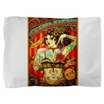 Chapel Tattooed Beautiful Lady Pillow Sham