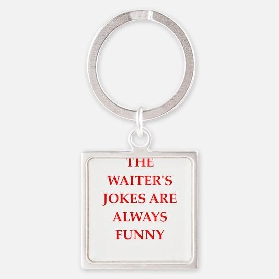 waiter Keychains