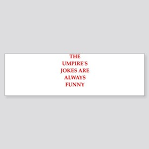 umpire Bumper Sticker