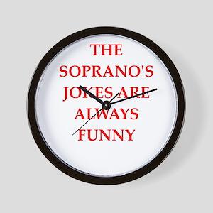 soprano Wall Clock