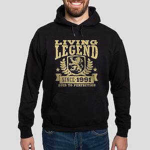 Living Legend Since 1991 Hoodie (dark)
