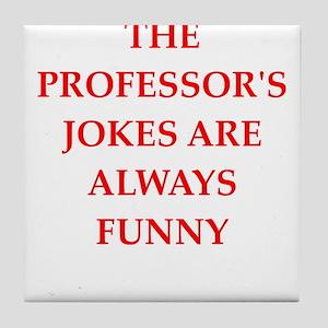 professor Tile Coaster